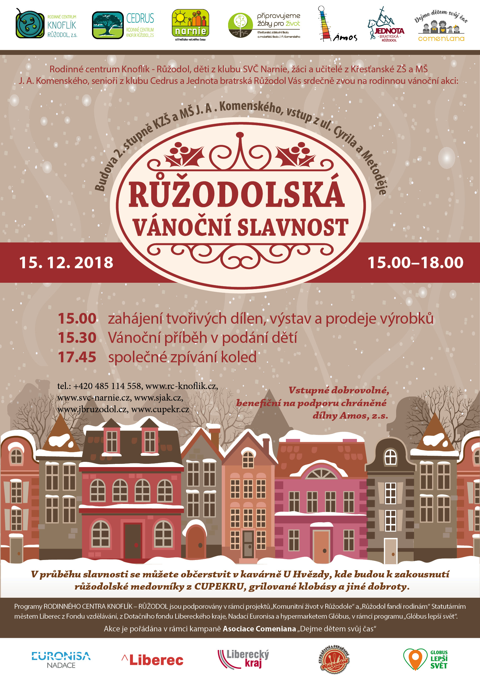Vánoční slavnost 2018